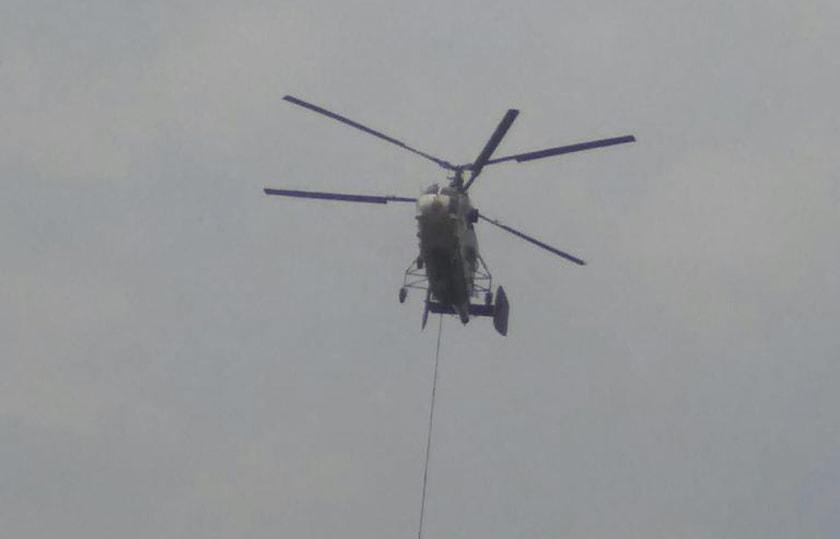 Dua Unit Helikopter BNPB dan Satgas Terpadu Dikerahkan Padamkan Api di OKI