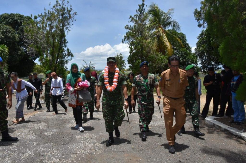 Danrem 152/Babullah Kunjungi Pulau Morotai untuk Matangkan Rencana Pembentukan Kodim