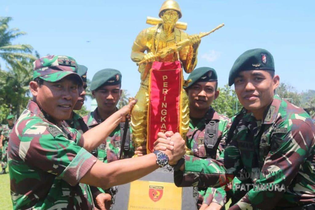 Pangdam Tutup Lomba Ton Tangkas Kodam XVI/Pattimura