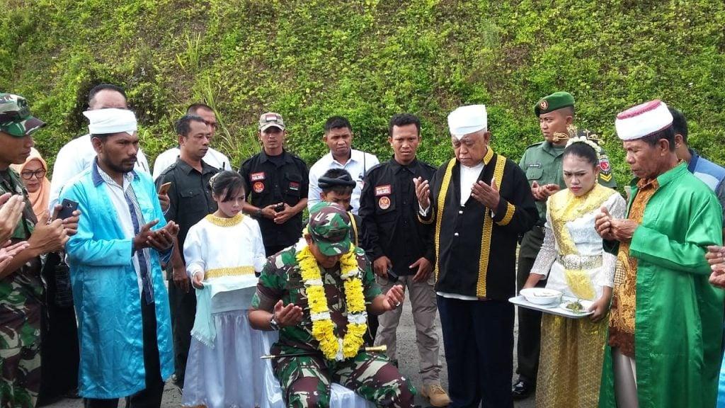 Pangdam XVI/Pattimura Kunjungi Halsel dan Pulau Obi