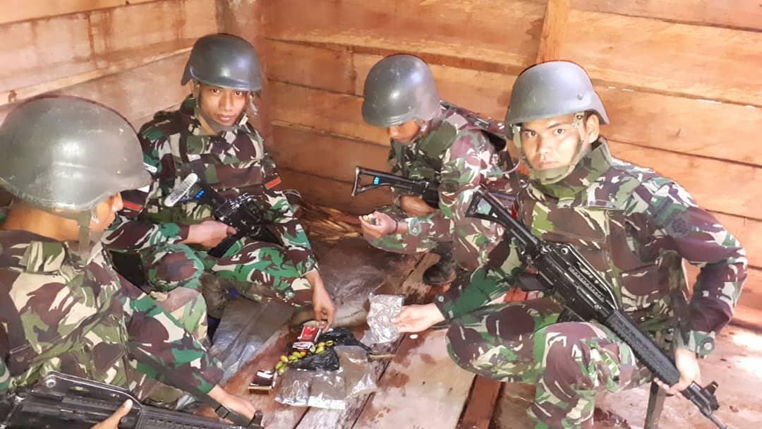 Untuk ke-37 Kalinya Satgas Kostrad Tangkap Pembawa Narkoba di Perbatasan Indonesia-PNG
