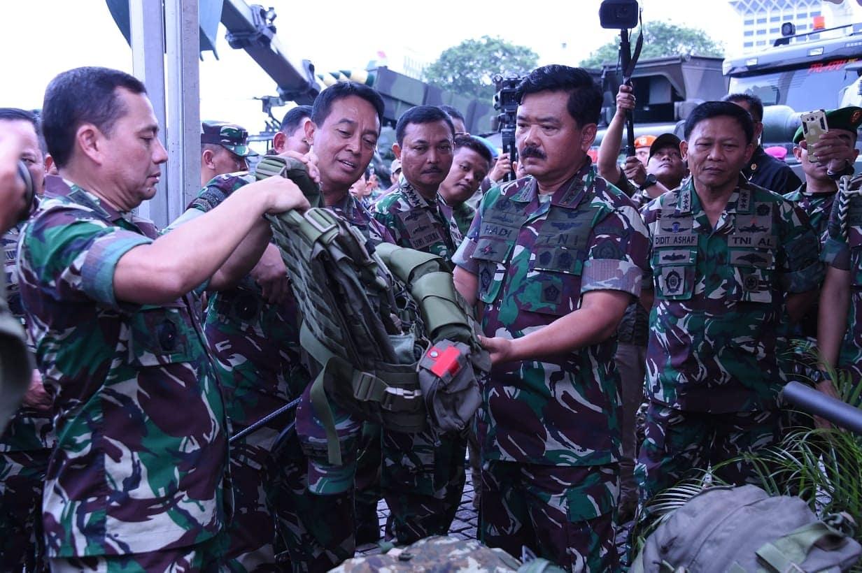 Panglima TNI: Sinergitas TNI dan Polri Terwujud dalam Pameran Alutsista TNI 2018