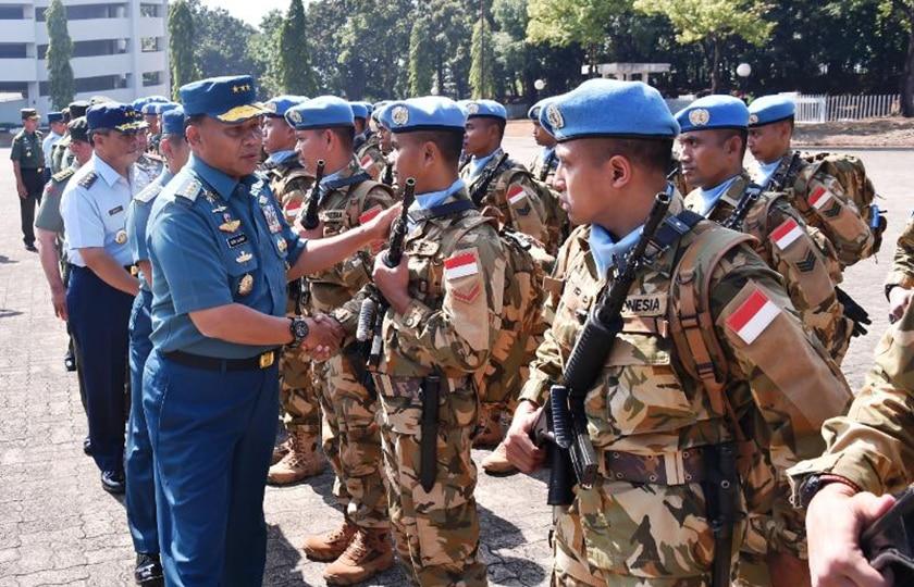Panglima TNI: Prajurit TNI Berhasil Jalankan Tugas Negara yang Dipercayakan Dunia
