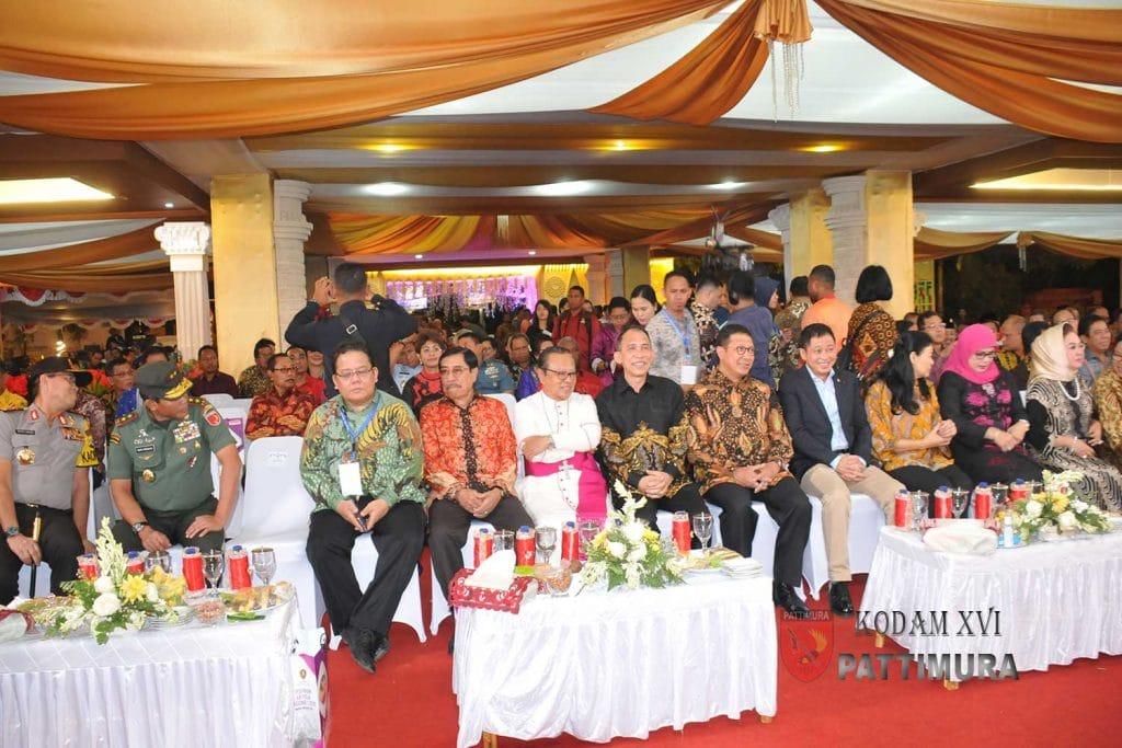 Pangdam XVI/Pattimura Hadiri Pembukaan Pesparani Katholik Nasional I Tahun 2018