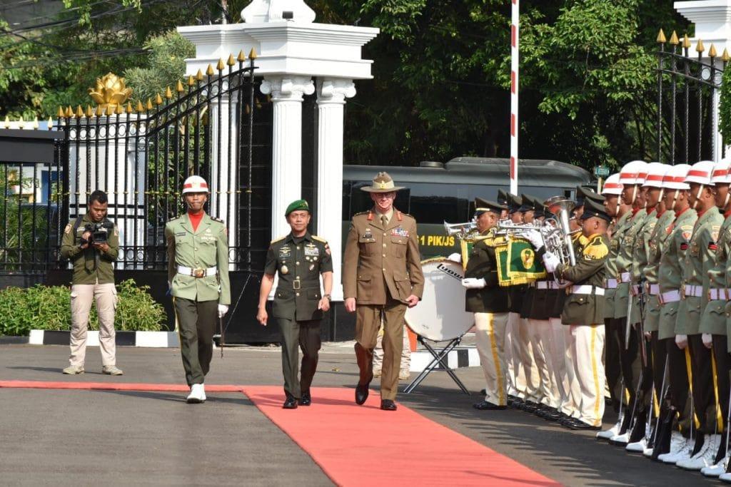 Kerjasama Bilateral Militer Australia-TNI AD dilandasi kejujuran, saling percaya, menghormati dan bersahabat