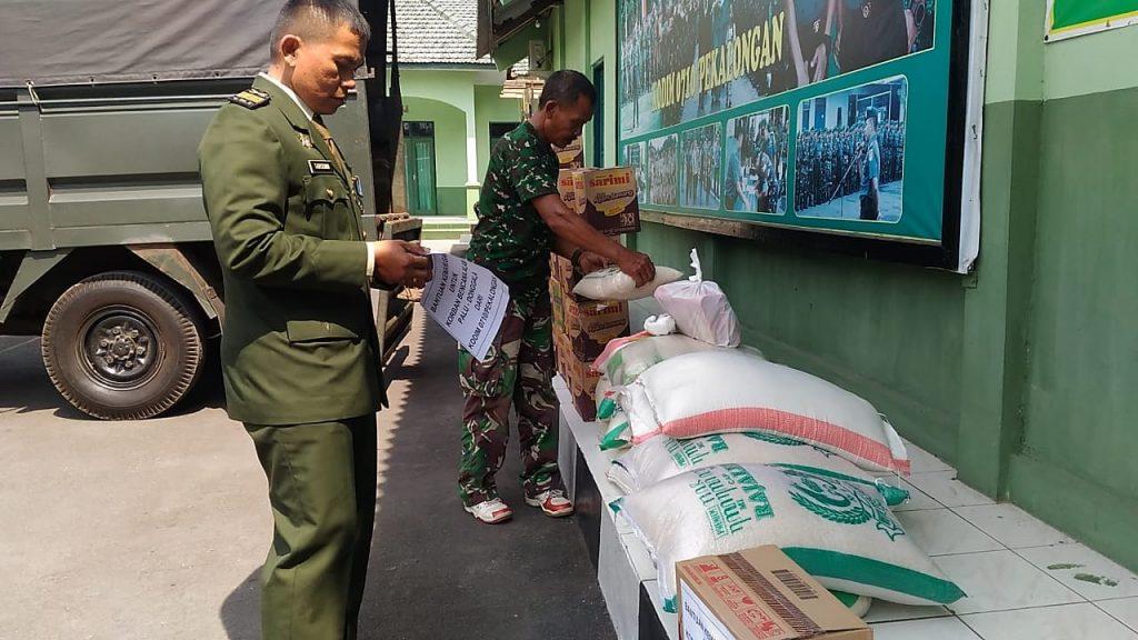 Peduli Bencana Alam Palu dan Donggala Kodim 0710 Pekalongan Kirim Bantuan Logistik