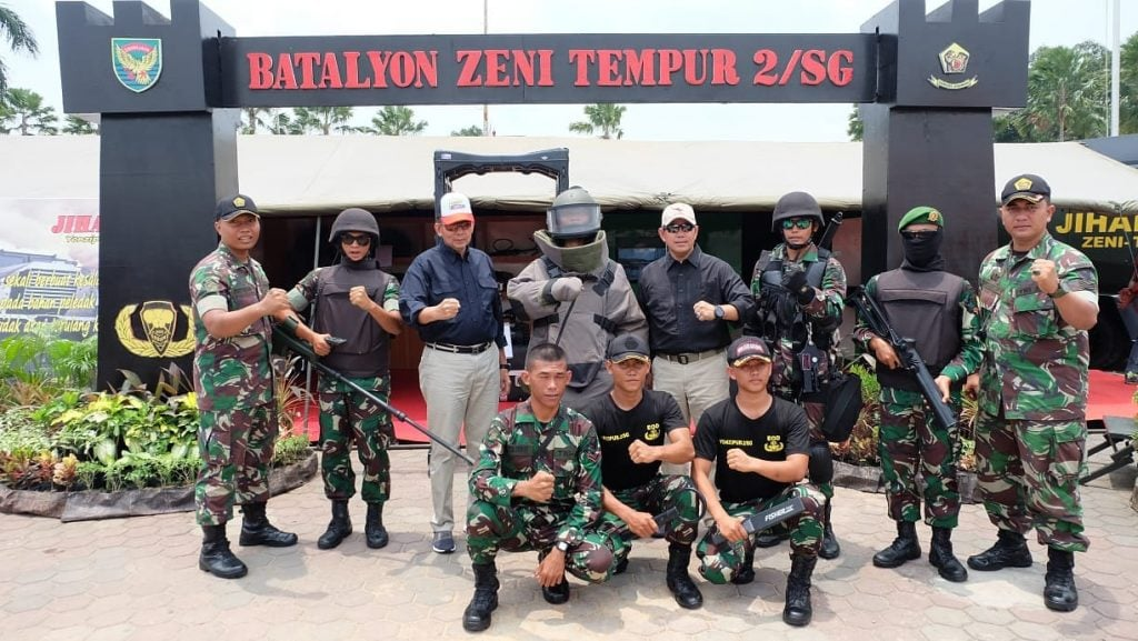 Pangdam II/SWJ Tinjau Pameran Alutsista TNI di BKB Palembang