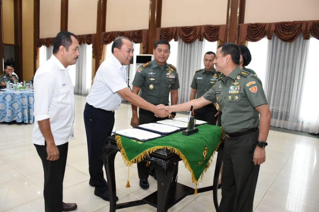 Kasad: TNI AD Tandatangani Kerjasama dengan PT. Bukit Asam dan PT KAI, Mendukung Percepatan Pembangunan Nasional