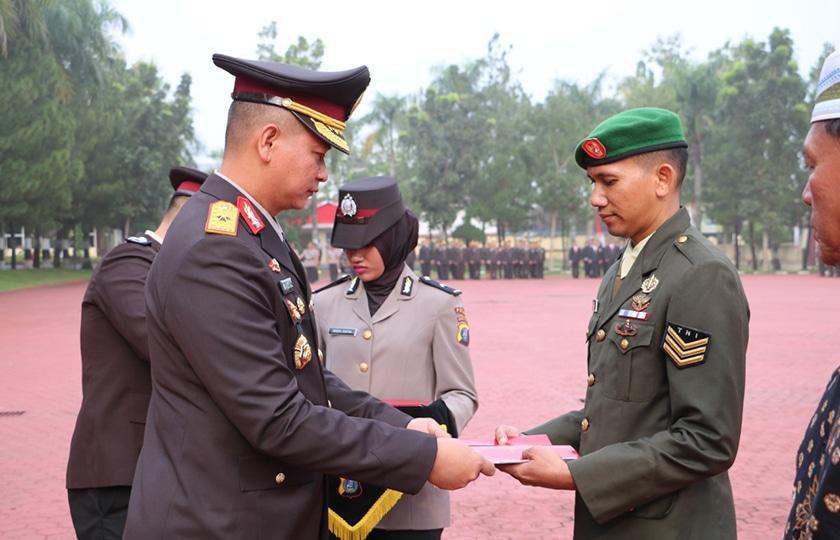 Prajurit Kodam I/BB Gagalkan Aksi Perampokan, Kapoldasu Beri Penghargaan