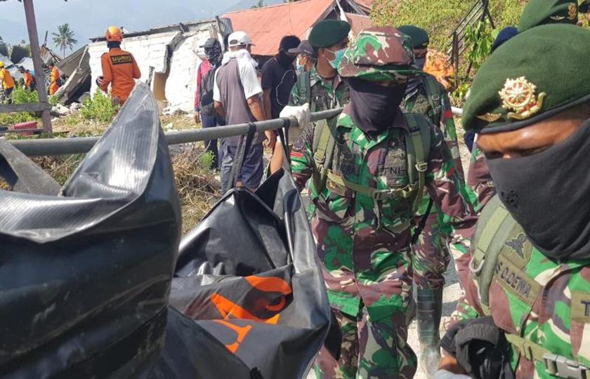 TNI Temukan 188 Jenazah di Reruntuhan Perumahan Balaroa, Palu