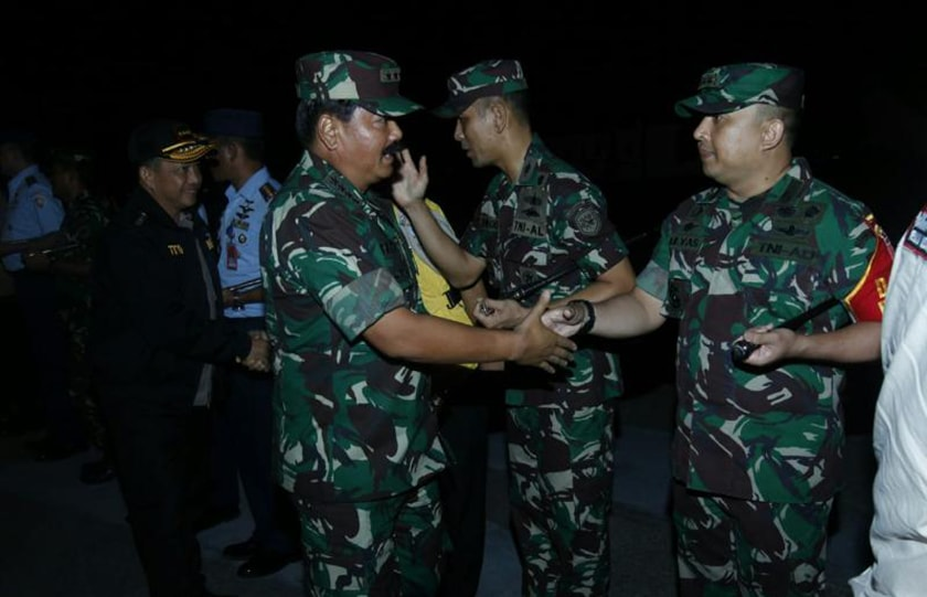 Panglima TNI Kunjungan Kerja ke Balikpapan