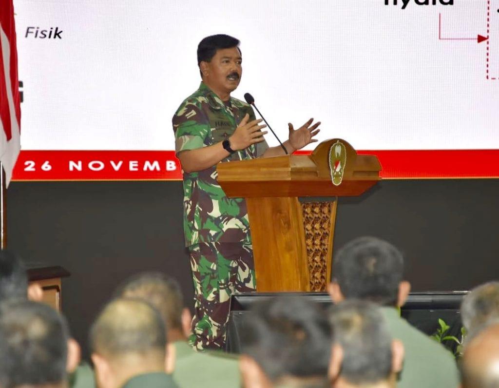 Panglima TNI : Teritorial TNI Miliki Peran Penting Dalam Penguatan Pertahanan Negara