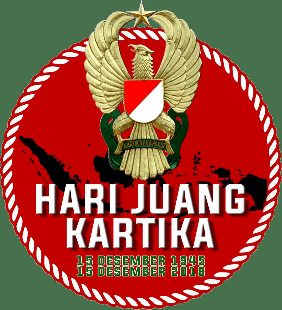 Banner dan logo Hari Juang Kartika 2018