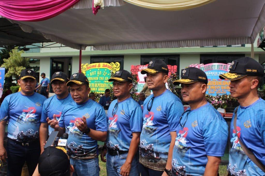HUT Ke-72, Momentum Konsolidasi Internal Arhanud TNI AD