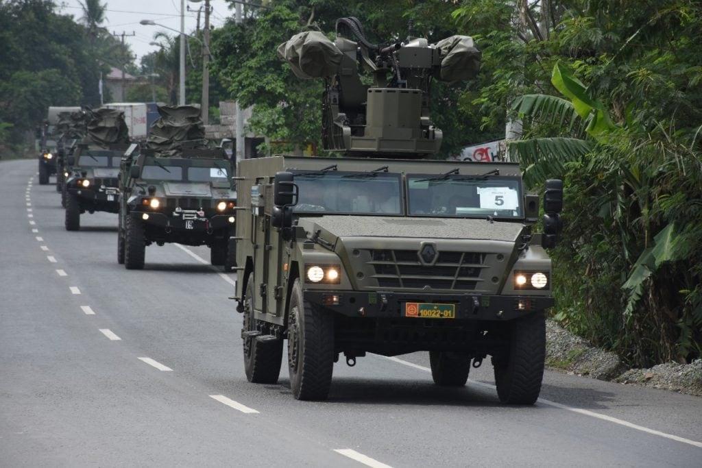 TNI AD Gelar Latihan Antar Kecabangan