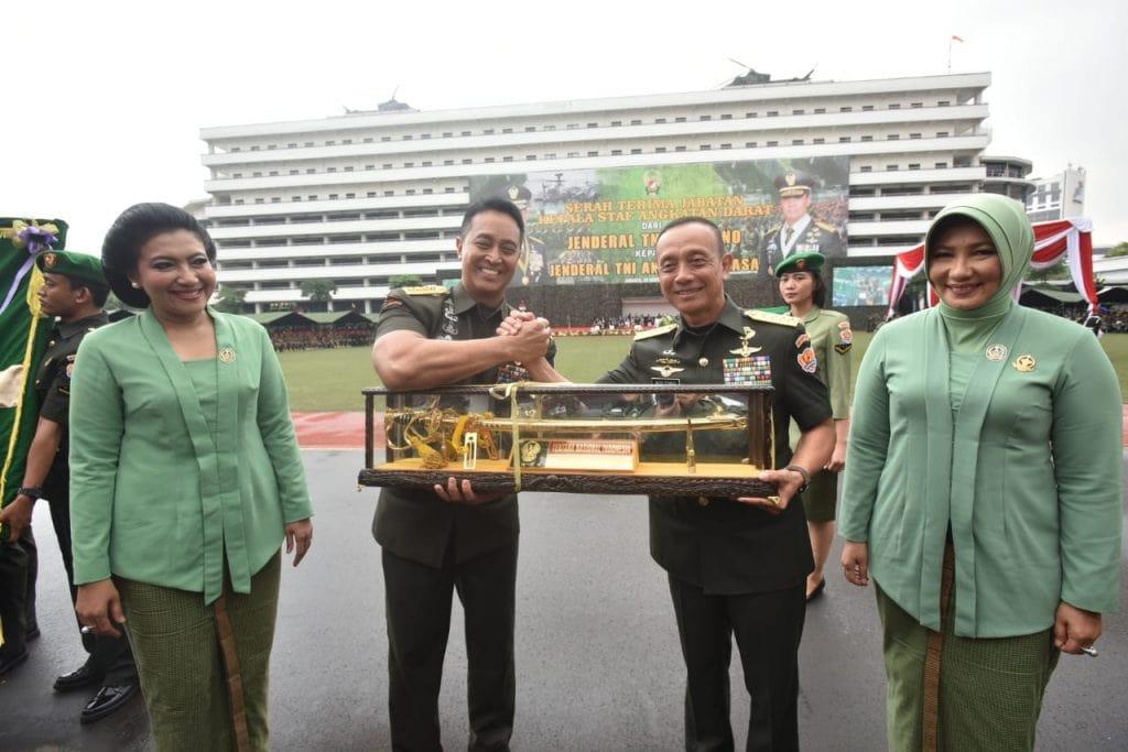 Jenderal TNI Mulyono: Saya percaya, Jenderal TNI Andika Perkasa mampu mengakselerasi serta mencapai visi dan cita-cita besar tersebut