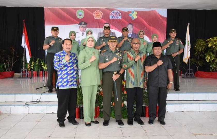 Danrem 152/Babullah Tutup Kegiatan TNI KB-Kes di Halmahera Timur