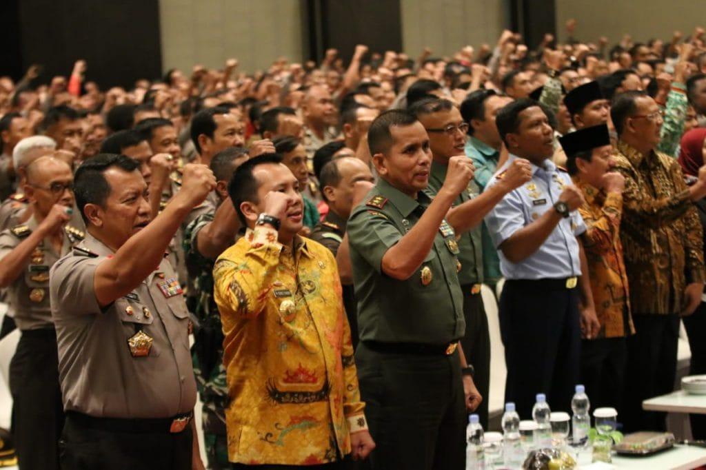 Tiga Pilar Di Lampung Siap Menjaga Ketertiban Masyarakat