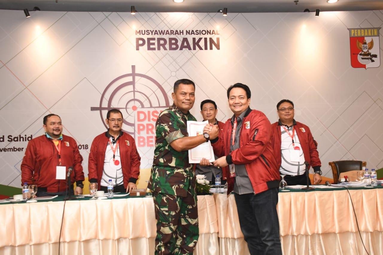 Mayjen TNI Joni Supriyanto, Ketua Umum Perbakin Periode 2018-2022