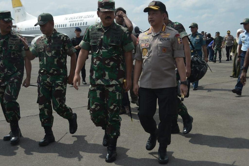 Panglima TNI Kunjungan Kerja ke Medan