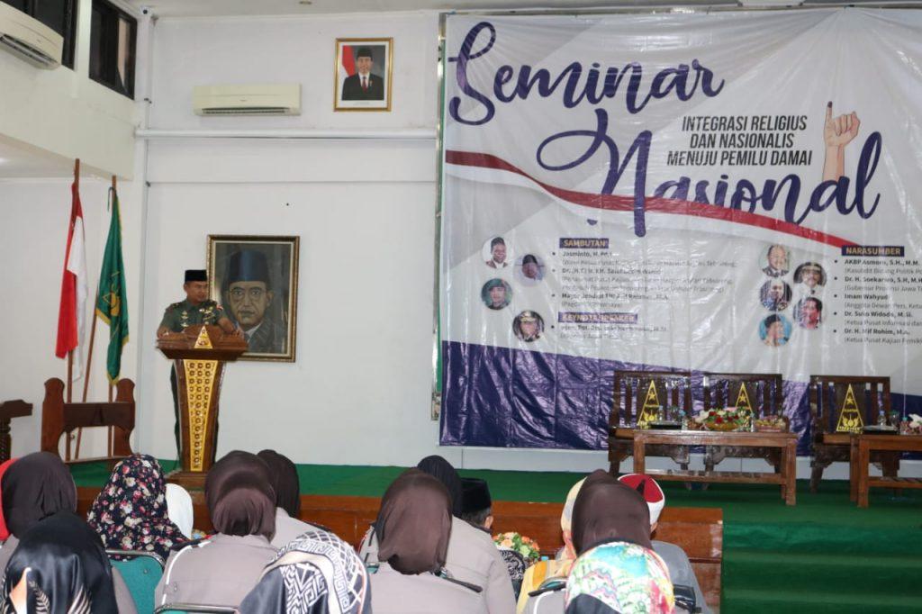 Pangdam V/Brawijaya : Integrasi Religius dan Nasional Menuju Pemilu Damai