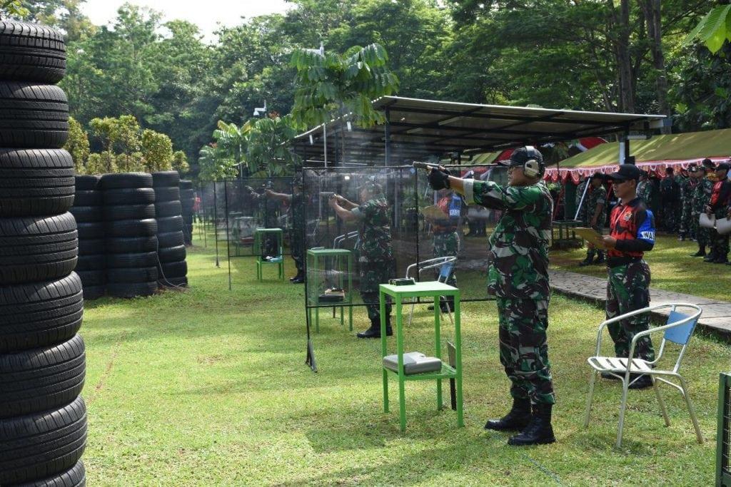 Lomba Tembak Panglima TNI 2018, melatih prajurit bertindak benar dan terukur