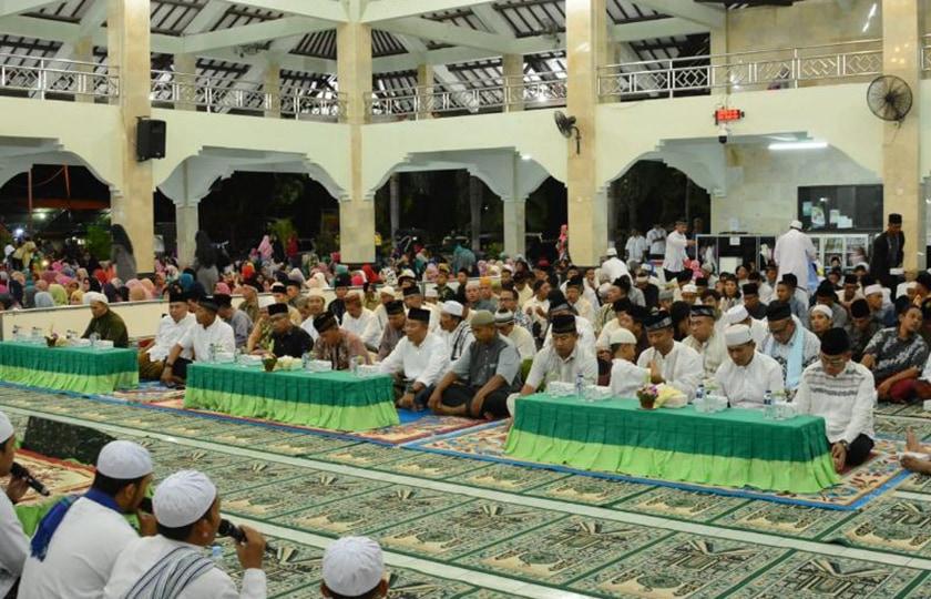 Teladani Kehidupan Rasulullah, Warga Kodam IX/ Udayana Peringati Maulid Nabi Muhammad SAW