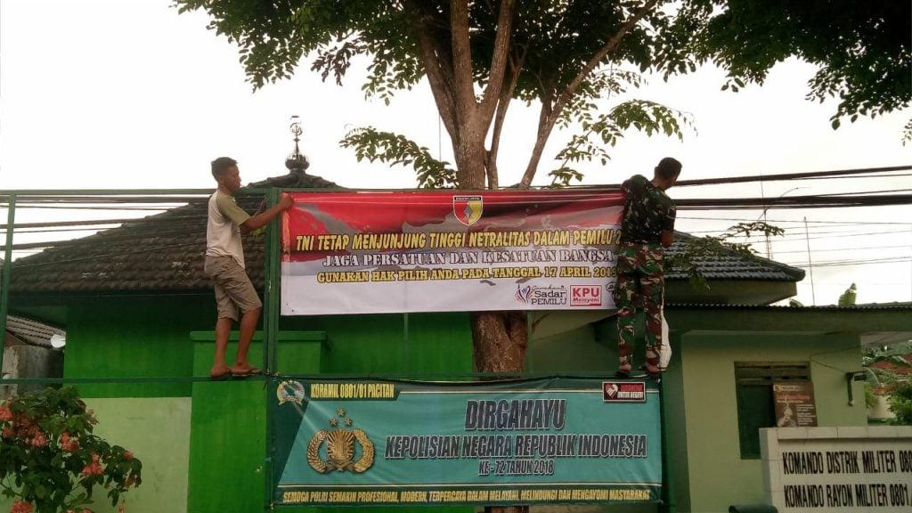 Dandim Pacitan : Jangan Pernah Nodai Netralitas TNI