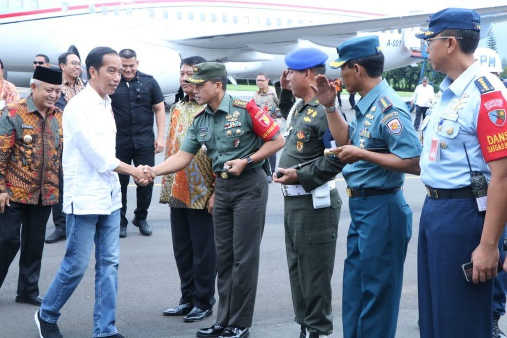 Jajaran Kodam V/Brawijaya Amankan Kunjungan Presiden RI di Jawa Timur