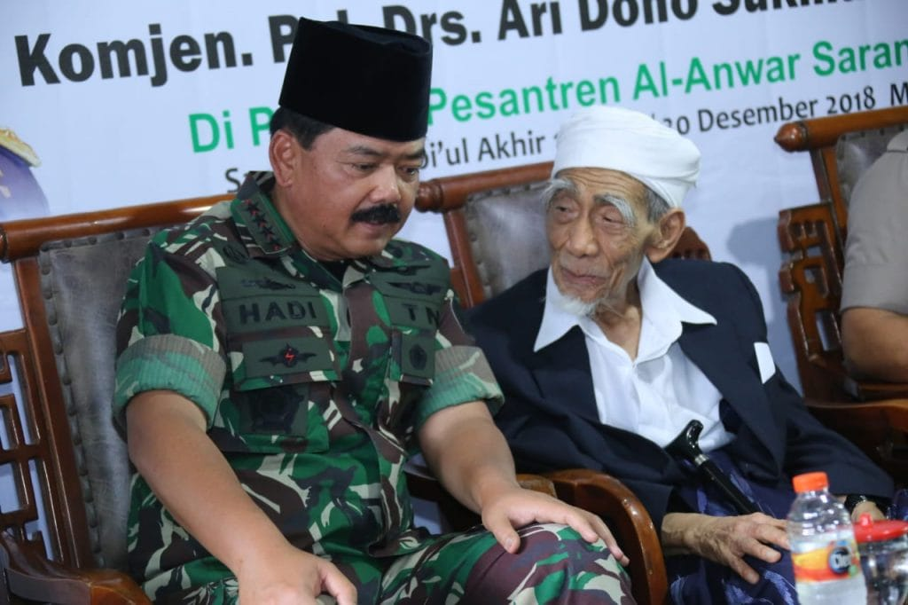 Panglima TNI Sambangi Pondok Pesantren Al-Anwar Sarang di Jawa Tengah