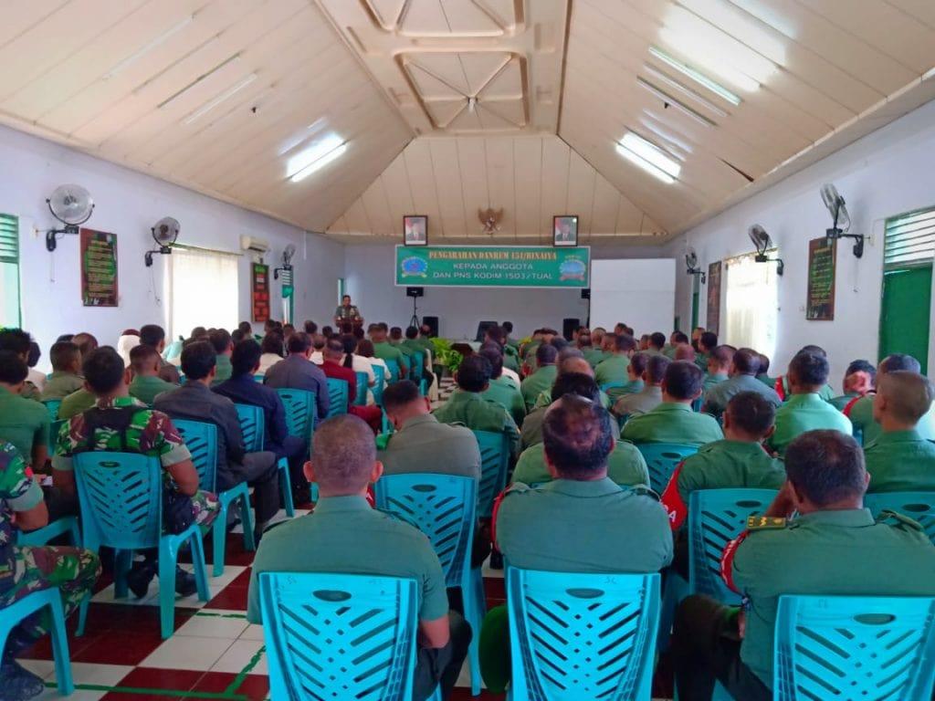 Prajurit dan ASN TNI AD Jaga Netralitas TNI
