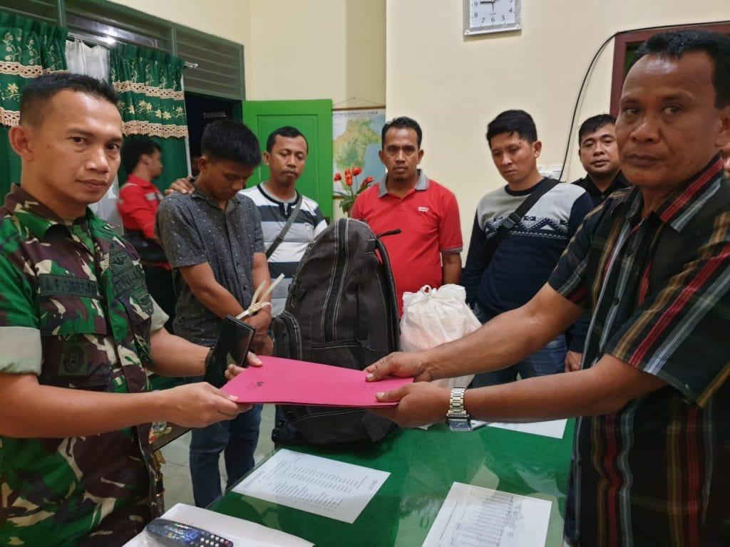 Prajurit Kodim 0902/Tanjung Redeb Amankan Sabu-Sabu Seberat 7 Kg