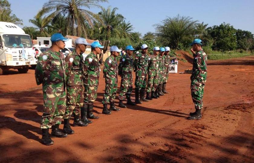 Force Commander MONUSCO Apresiasi Satgas TNI Kizi Konga XX-O