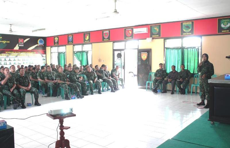 Cegah Penggunaan Narkoba, Kodim 0734/Yogyakarta Gelar Penyuluhan P4GN Bagi Prajurit dan PNS