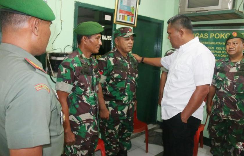 Aparat Teritorial Jalin Komunikasi, Mantapkan Kemanunggalan TNI-Rakyat