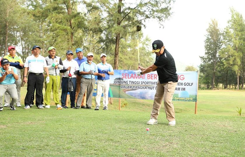 Open Turnamen Golf Memeriahkan HUT ke-62 Kodam Iskandar Muda