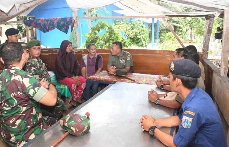 Kunjungan Kerja di Kepulaun Seribu, Pangdam Jaya Tinjau Tiga Lokasi