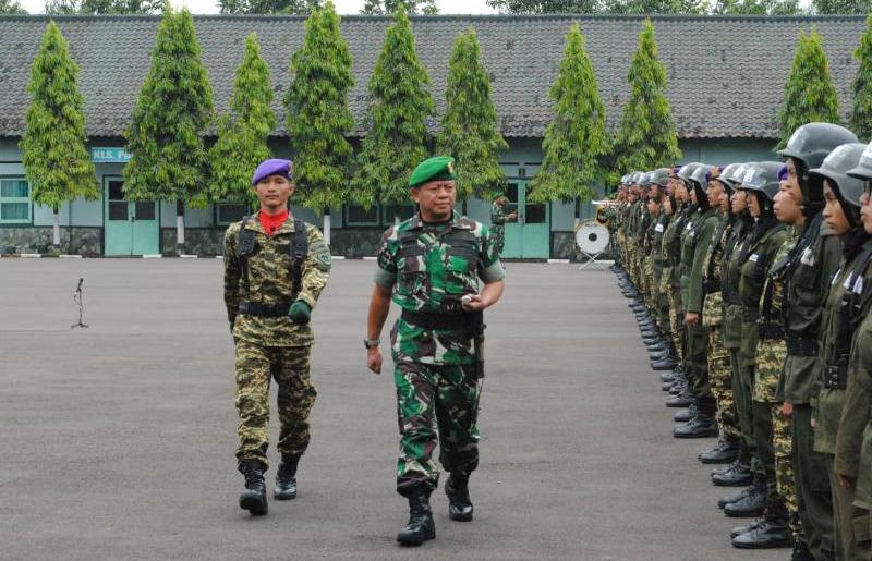 Danrindam III/Siliwangi Buka Pendidikan dan Latihan Dasar Kemiliteran Resimen Mahasiswa