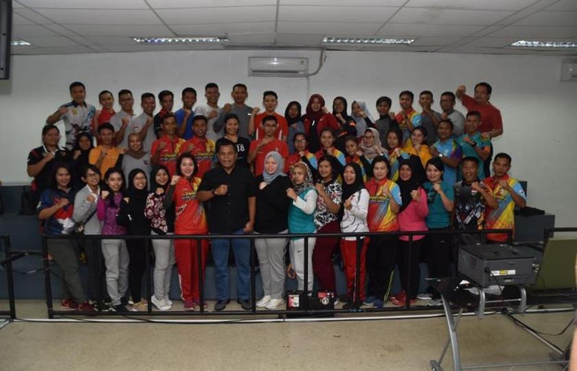 Ketum Perbakin Tinjau Seleksi Atlet Nasional Petembak Sea Games 2019