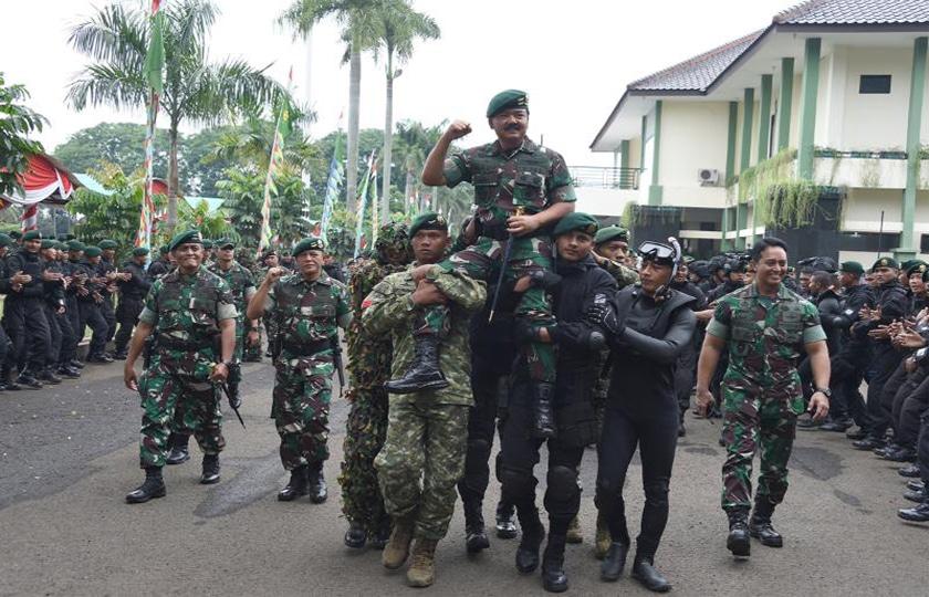 Panglima TNI : Prajurit Kostrad Ujung Tombak Penjaga Keutuhan NKRI