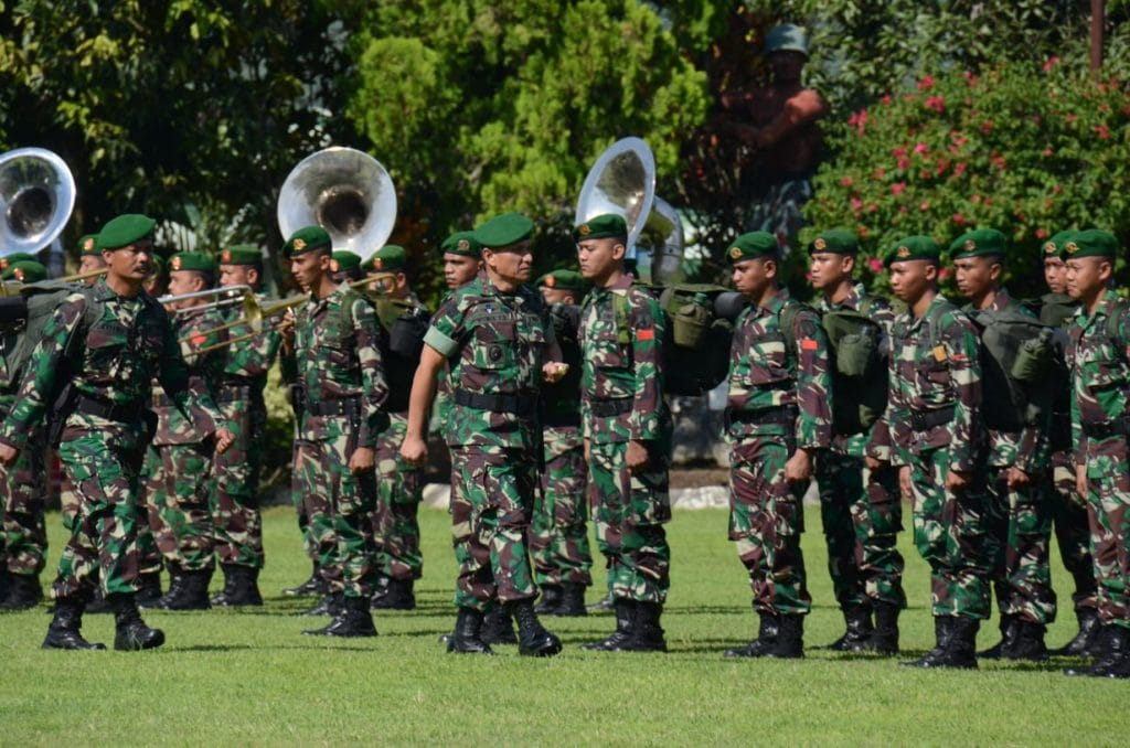 Terjunkan Yonzipur 5, Kodam V/Bwj Bantu Rehab dan rekonstruksi korban gempa Lombok