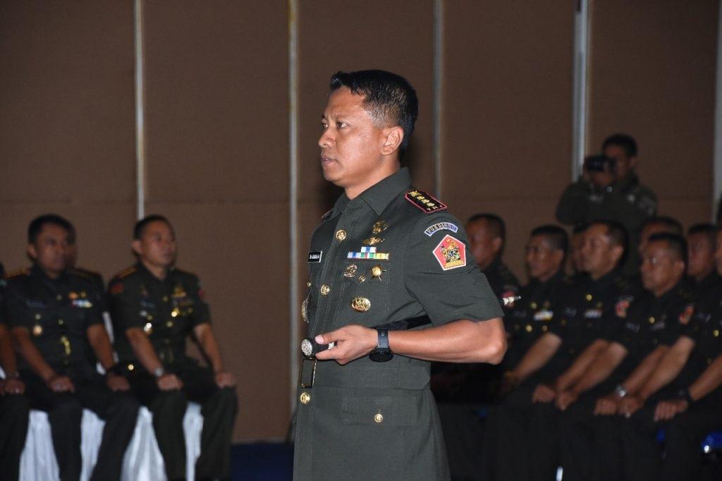 Komandan Kodiklatad : Bekerjalah Dengan Hati, Profesional dan Selalu Bersyukur