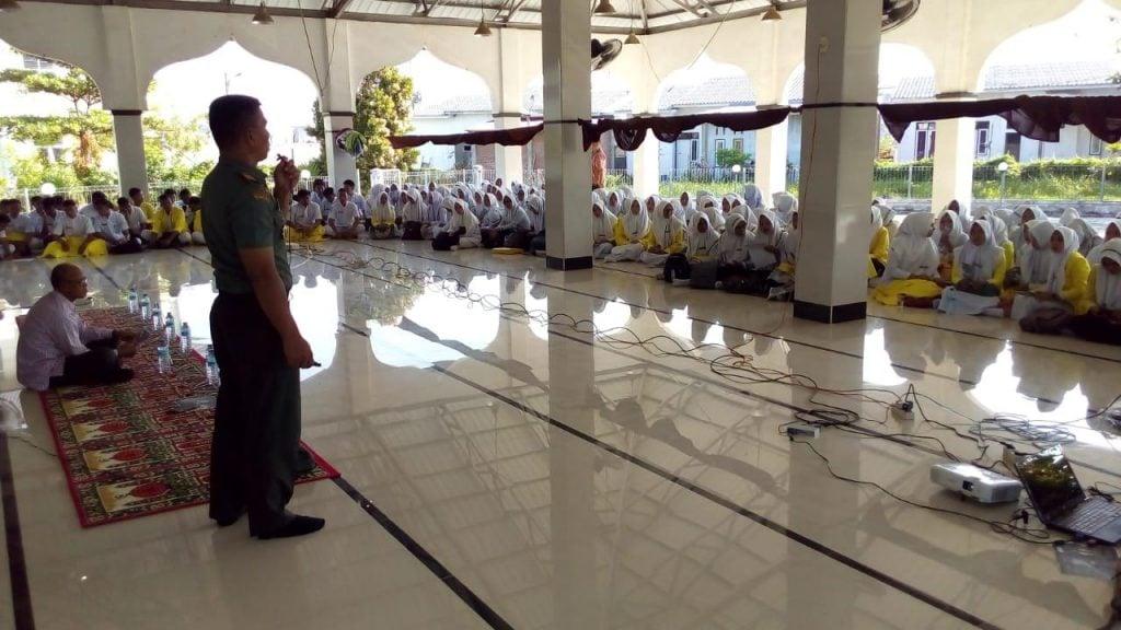 Kodim 0104/Aceh Timur Sosialisasikan Pendaftaran Sekolah Perwira Kesehatan TNI