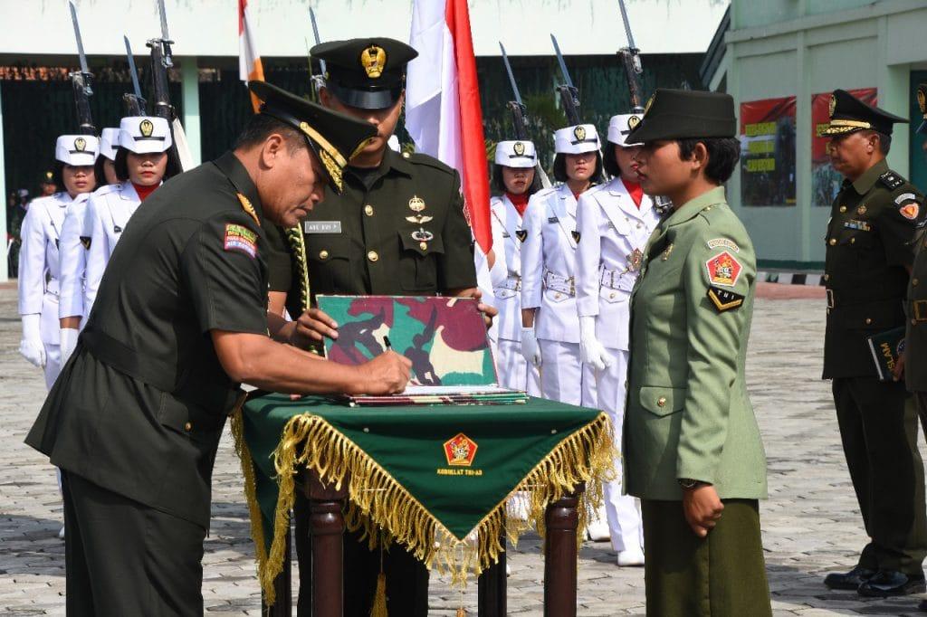 Dankodiklatad : 102 Bintara Kowad Baru Perkuat TNI AD