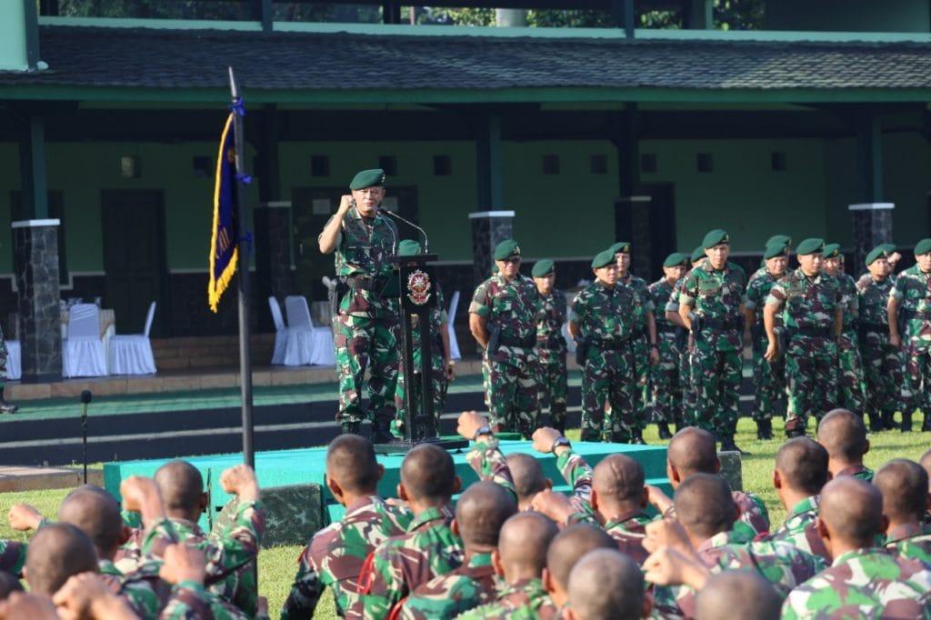 Kostrad Standarisasi Kemampuan Khusus Prajurit Cakra