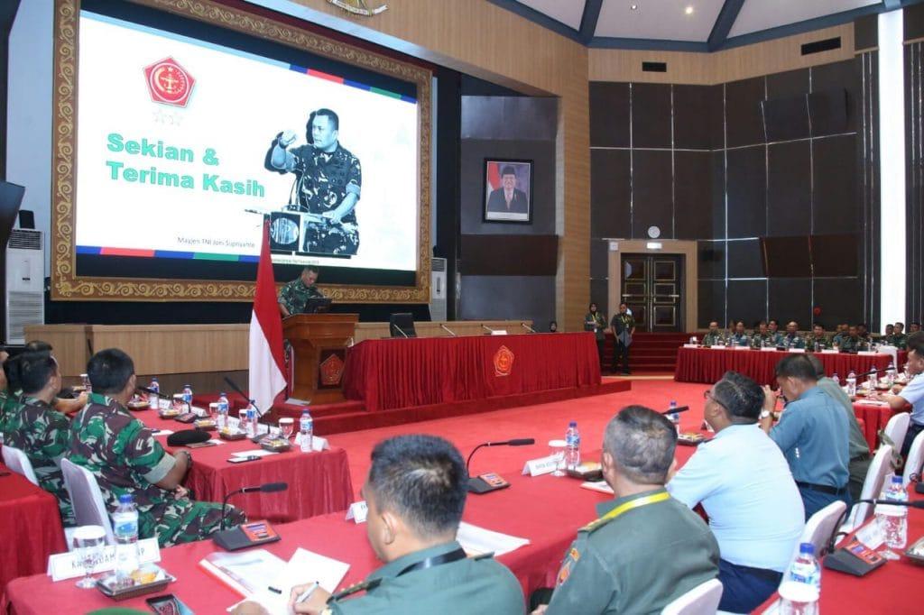 Insan Penerangan TNI Harus Cerdas dan Penuh Inovasi