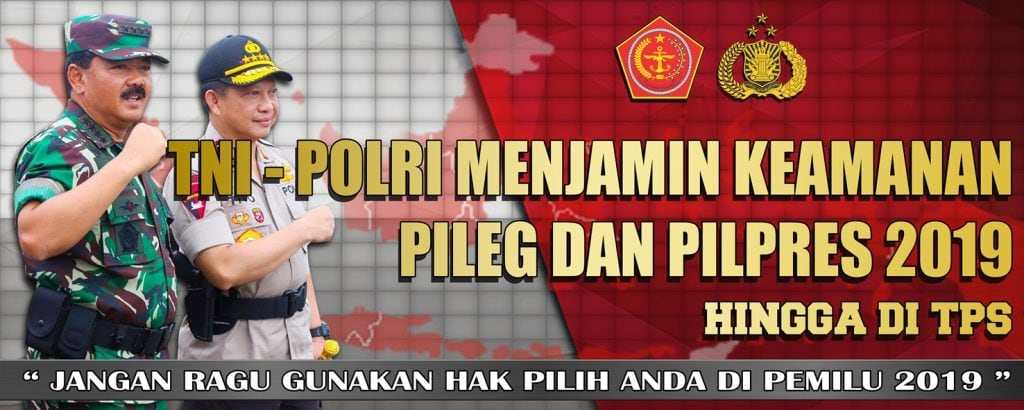SPANDUK PILPRES TNI POLRI 5×2 OK