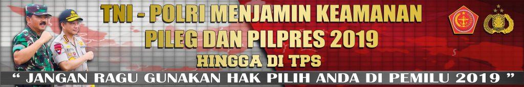 SPANDUK PILPRES TNI POLRI 6×1