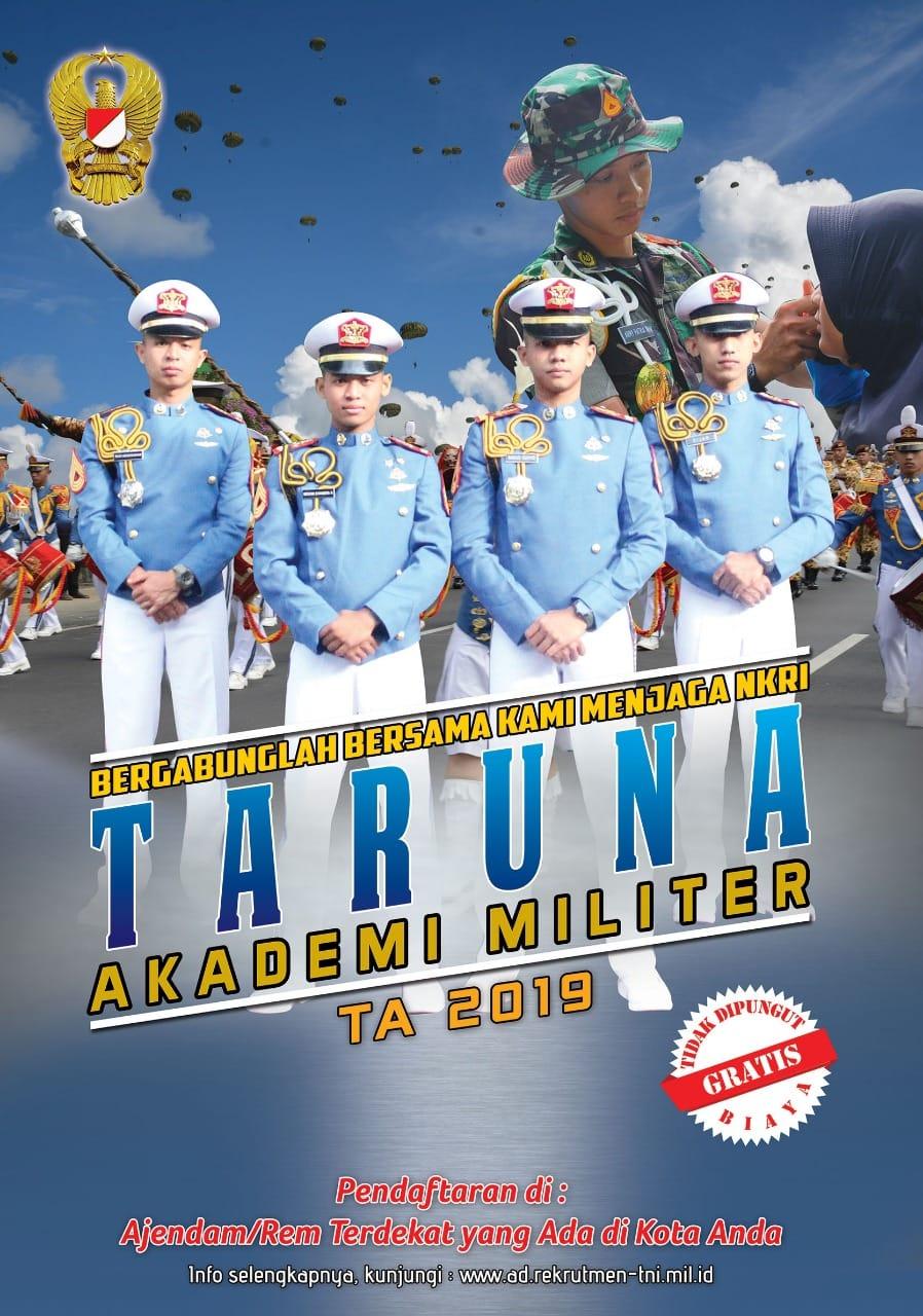 PENERIMAAN PRAJURIT TNI ANGKATAN DARAT TAHUN 2019