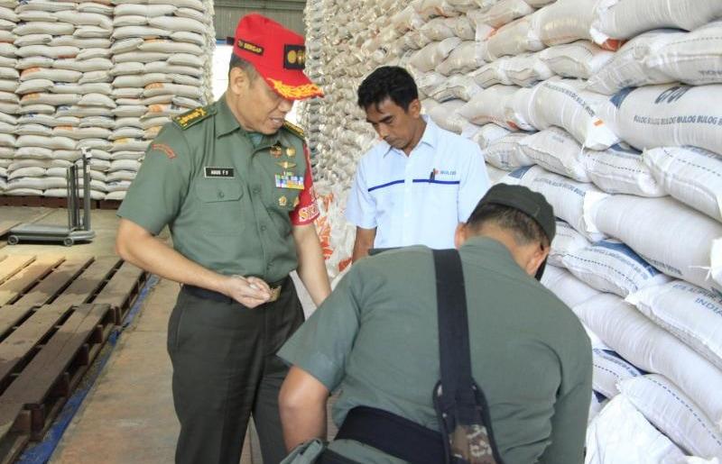 Tim Sergap Sterad Monitoring Optimalisasi Pencapaian Target Luas Tambah Tanam (LTT) di Aceh Timur